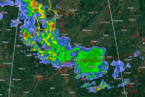 Rain, Some Thunder Across Central Alabama, Severe Storms Moving Across Tennessee Valley; More Strong Storms Later Today