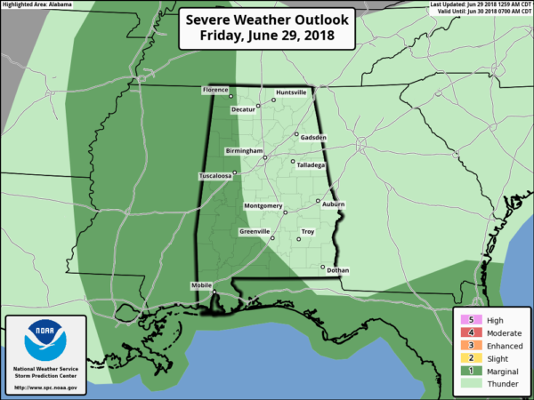 James Spann: Storms less widespread in Alabama today - Alabama