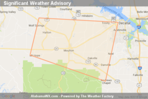 Significant Weather Advisory For West Central Morgan And Central Lawrence Counties Until 6:15 PM CDT