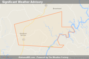 Significant Weather Advisory For North Central Tuscaloosa County Until 3:00 PM CDT