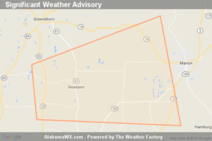 Significant Weather Advisory For West Central Perry And Southeastern Hale Counties Until 5:00 PM CDT