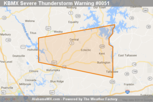 The Severe Thunderstorm Warning For Northeastern Elmore County Is Cancelled