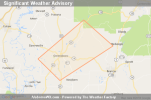 Significant Weather Advisory For Northwestern Perry And Southeastern Hale Counties Until 3:45 PM CDT