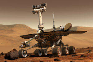 Mars Rover Opportunity Prepares To Weather Dust Storm