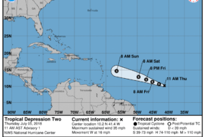 Beryl Becomes A Remnant Low