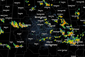 A Quick Early Afternoon Update: Scattered Storms Amongst Us