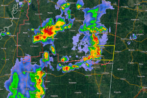 Storms Approaching Northwest Alabama
