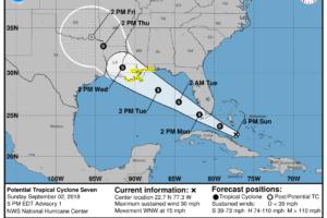 Tropical Storm Watch For The Alabama Gulf Coast