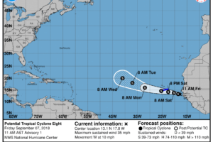 Helene Now A Post-tropical Cyclone