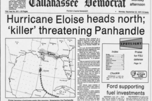 On this Date in 1975: Hurricane Eloise Sets its Sights on the Gulf Coast