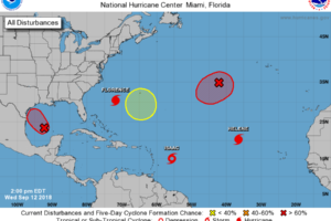 Quick Update On The Rest Of The Tropical Disturbances