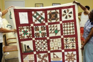 Riley Center Quilters Bring Underground History To Vibrant Life