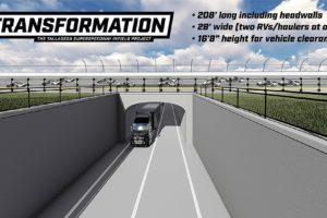 Construction To Begin On Turn 3 Oversized Tunnel At Talladega