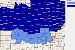 Bibb, Chilton and Coosa Counties Added to Freeze Warning