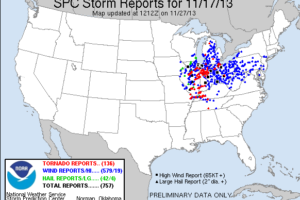 A Look Back On A Monstrous Late Season Tornado Outbreak