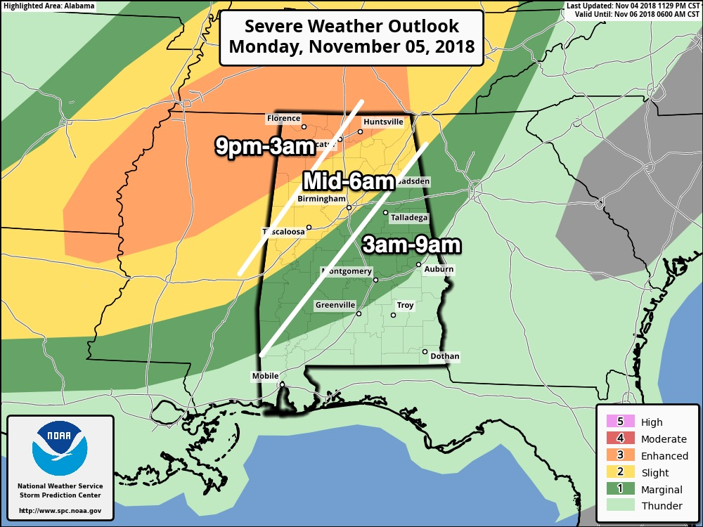 Strong To Severe Storms Late Tonight/Early Tomorrow | The