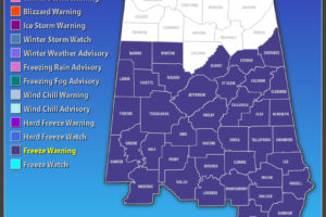 Freeze Warning Expanded In Time And Area