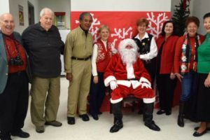 Mobile Energizer 'Elves' Bring Christmas To Southwest Regional School For The Deaf And Blind