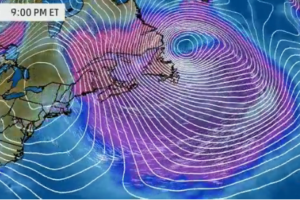 How Will One Episode Of Atmospheric Bombogenesis Will Influence The Next Storm Behind It?