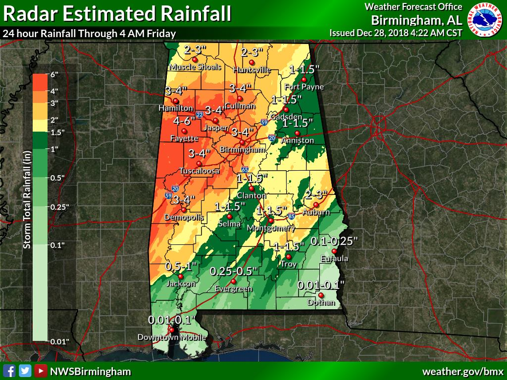 Storms Continue In The Southeast & Eastern Parts Of Central Alabama on map of alto georgia, map of interstate 20 georgia, map of i-75 georgia,