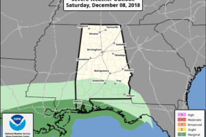 Very Wet Pattern For Alabama Through Sunday
