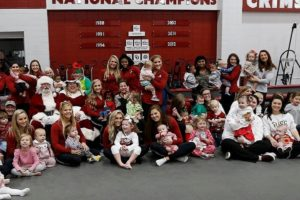 University Of Alabama Gymnastics Hosts Stallings RISE Center Holiday Play Date