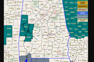 Flash Flood Watch Issued For West Central Alabama For Thursday Afternoon Through Friday Morning