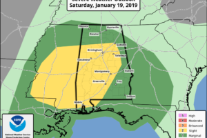 Potential For Strong To Severe Storms On Saturday