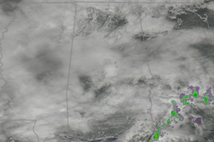 Even With Clouds, It's Not Too Bad At Midday Across Central Alabama