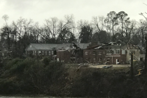 More Damage Reports From Wetumpka From Apparent Tornado