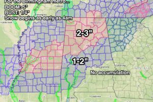 Winter Storm Ahead For North Alabama