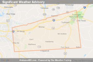 Significant Weather Advisory For Northwestern Bullock, Macon And Northeastern Montgomery Counties Until 11:30 AM CST