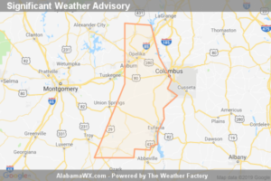 Significant Weather Advisory For Southeastern Pike, Lee, Eastern Bullock, Southeastern Macon, Southern Chambers, Barbour And Russell Counties Until 12:30 PM CST