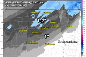 Sunday Evening Notes On The Tuesday Snow Threat