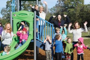 Wilsonville Elementary Boasts First-Class Playground Thanks To Help From Volunteers