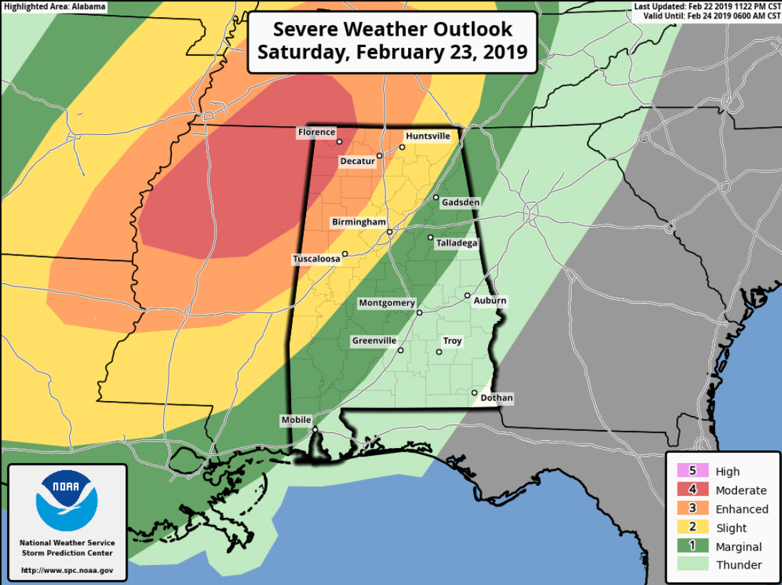 Significant Threat for Severe Weather This Afternoon and