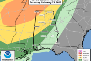 Still Wet Today/Tomorrow; Severe Storms Possible Late Saturday