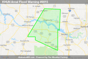 The Flood Warning Will Expire At 6:45 AM CST For Eastern Lauderdale, Northwestern Limestone, Southeastern Colbert And Lawrence Counties