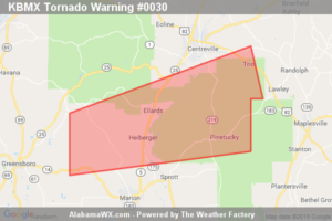 A Tornado Warning Remains In Effect Until 7:00 PM CDT For Northeastern Perry And South Central Bibb Counties