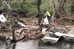 Birmingham Area Students, Adults, Agencies Join Forces For Valley Creek Renew Our Rivers Cleanup