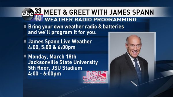 James Spann: Tranquil weather pattern continues for Alabama