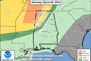 A Look At Today's Severe Weather Threat For Northwest Alabama