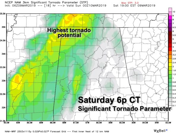 James Spann: A look at today's severe weather threat for
