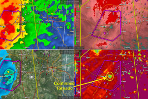 Confirmed Tornado just east of Starkville