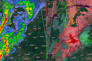 Tuscaloosa County Circulation Weaker, Tornado Warning Canceled