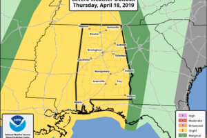 Dry Through Tomorrow; Strong/Severe Storms Thursday Night