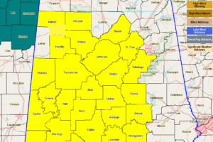 Tornado Watch Extended Even More Across Central Alabama