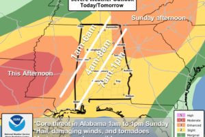 A Look At The Alabama Severe Weather Threat
