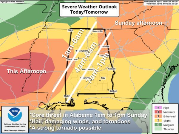 A Look At The Alabama Severe Weather Threat | The Alabama ... Severe Weather Risk Map on thunderstorm risk map, disaster risk map, flood risk map, social media risk map, world bank map, travel risk map, enterprise risk map, tsunami risk map, earthquake risk map, heat risk map,
