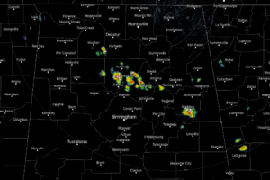 A Few Isolated Strong Storms Out There At 3:20 PM